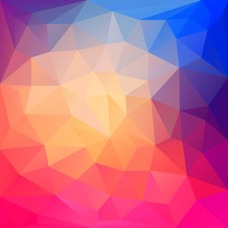 futuristic background: Abstract geometric vector background and place for text