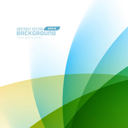 Smooth light lines abstract vector background eps10