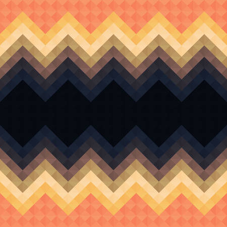 background tile: Abstract geometric retro vector background pattern eps10 Illustration