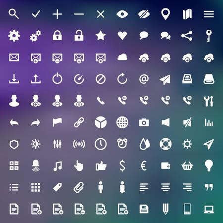 creativ: Web site icons set design elements for design