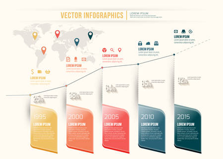 website buttons: Vector abstract timeline infographic design. Workflow layout template