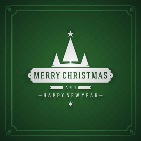 postcard background: Christmas postcard ornament decoration background. Vector illustration EPS10