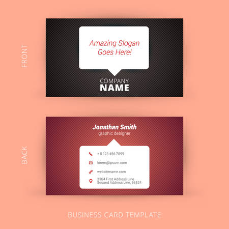 Vector modern creative and clean business card template royalty free vector vector modern creative and clean business card template cheaphphosting Gallery