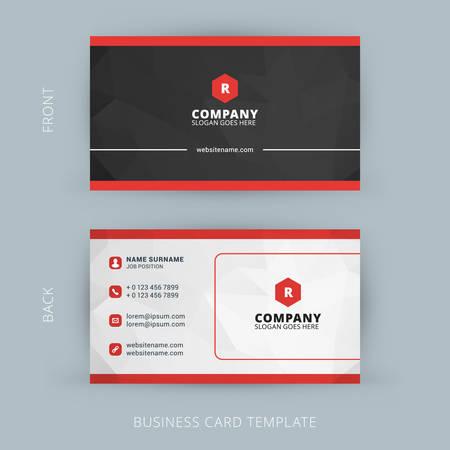 Vecteur créative moderne et propre carte de visite Banque d'images - 41897111