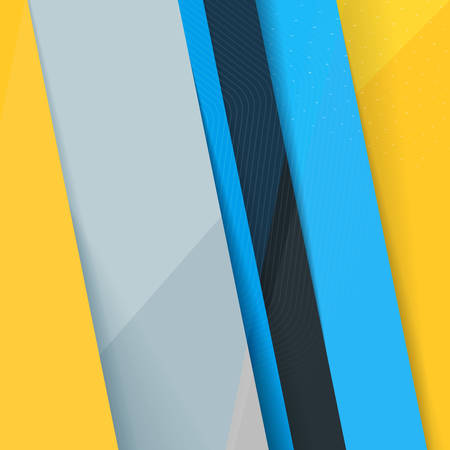 screenshot: Abstract Colorful Vector Background. Modern Material Design