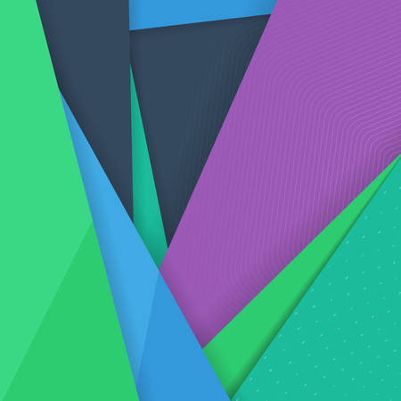 material: Abstract Colorful Vector Background. Modern Material Design