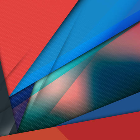 Modern Material Design Abstract Vector Background Illustration