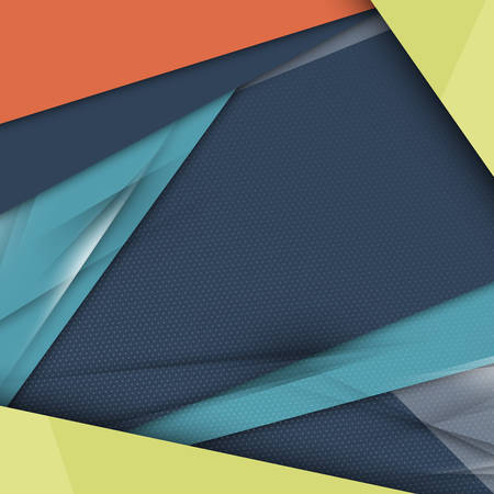 modern material: Modern Material Design Abstract Vector Background Illustration
