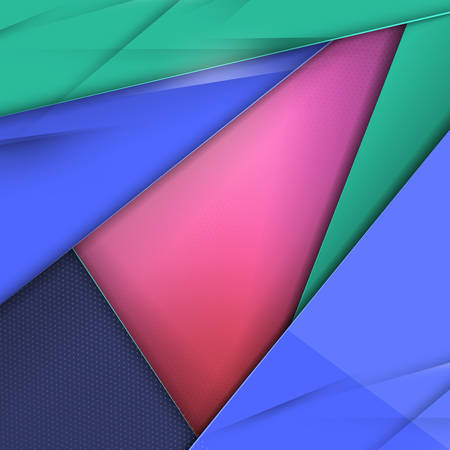screenshot: Modern Material Design Abstract Vector Background Illustration