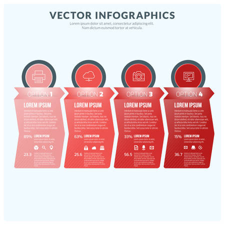 visualisation: Vector Abstract Infographic Design Element. Flat Style Vector Illustration for Data Visualisation or Presentation Illustration