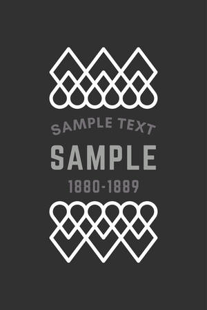 slavic: Slavic or Viking Style Oldfashioned Art Decorative Geometric Vector Frames and Borders. Black and white. Vector Ornaments, Vector Decoration, Line Ornament, Vector Logos, Vector Labels
