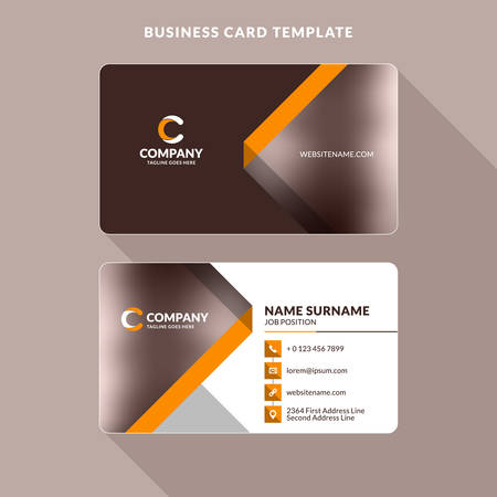 Double Sided Business Card Templates Kubreforic