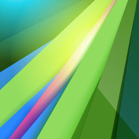 Modern Material Design. Abstract Green Vector Background. Vector illustration