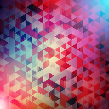 Abstract vector background. Colorful triangle background for wallpaper, flyer, poster, banner templates