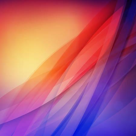 Modern colorful background. Vector illustration. Wave blurred soft background