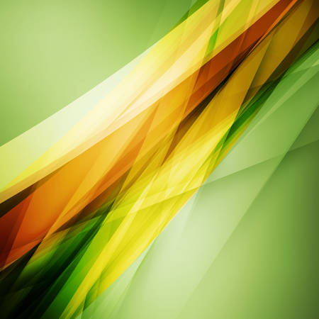 Abstract soft blurred green and orange backdrop for wallpaper, poster and banner templates Illustration