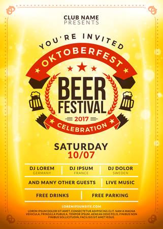 saturday night: Oktoberfest beer festival celebration.