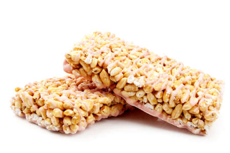 gozinaki: sweet walnuts isolated on a white background