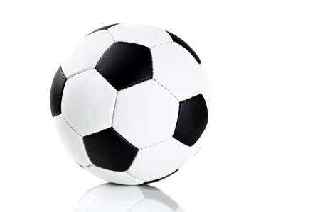 classic soccer ball isolated on a white background photo