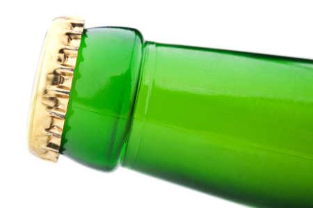 beer bottle isolated on white background Stock Photo - 14062019