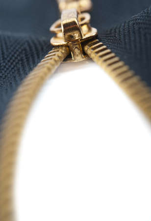 closeup of zipper on background Stock Photo - 17334511