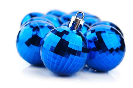 Christmas ball isolated on white background Stock Photo - 17334450
