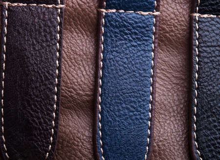 abstract leather texture closeup background Stock Photo - 17707212