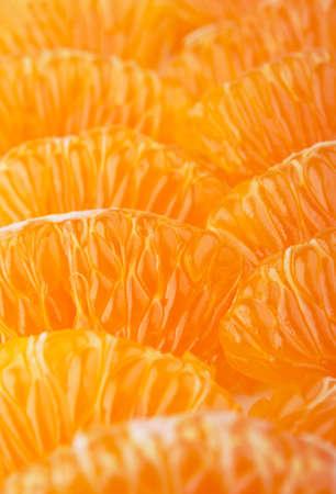 closeup of mandarin fruit background photo