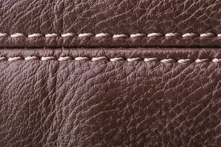 brown leather texture. vintage background Stock Photo - 17707175