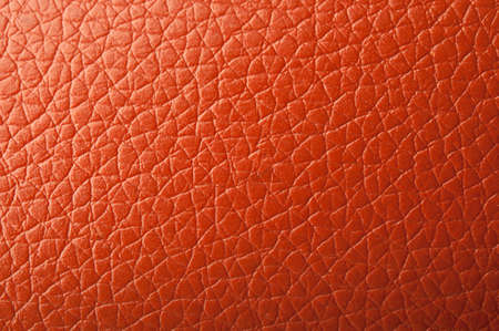 closeup of red leather background Stock Photo - 17707187