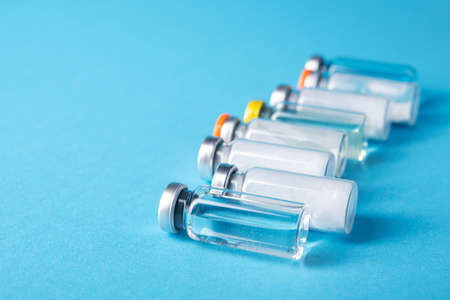 Several different vaccines to vaccinate the population against the coronavirus pandemic. Choosing the most effective treatment against COVID 19. Choice between vaccines.