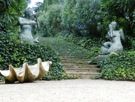 Santa Clotilde Garden, Lloret de Mar, Spain photo