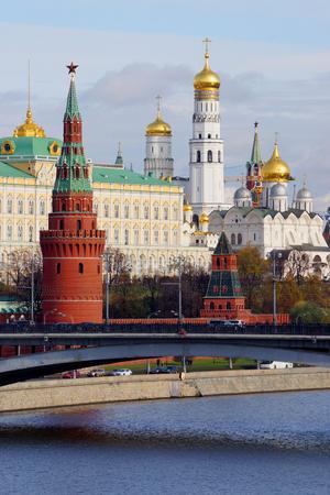 Capitale russe du Kremlin de Moscou, Russie Banque d'images - 23023505
