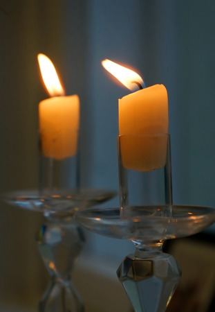 two candles photo