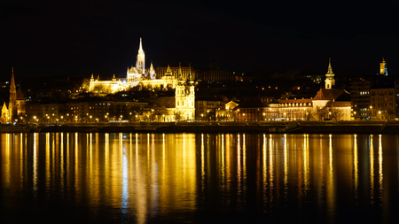 Buda Castle in Budapest, Hungary. photo