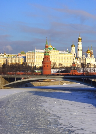 Russian capital of Moscow Kremlin, Russia. photo