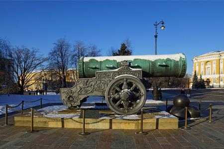 tsar: Tsar Cannon, Moscow Kremlin, Russia