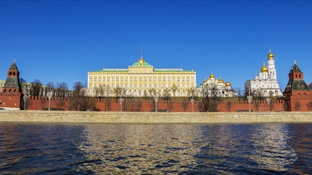 thawed: Moscow Kremlin, Russia