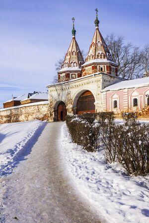 Suzdal in winter  Russia photo