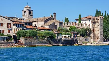 sirmione:  Sirmione on Lake Garda, Italy