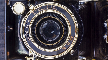 retro camera Stock fotó