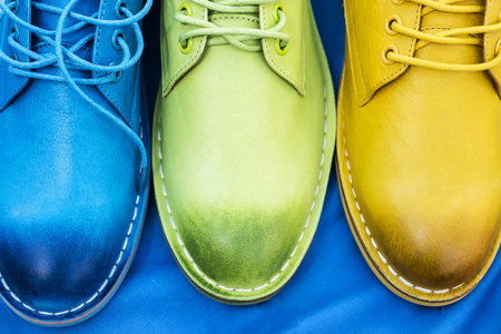 colorful shoes photo