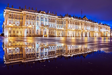 Hermitage on Palace Square, St. Petersburg