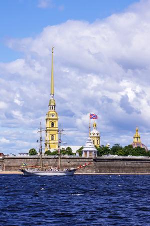 피터와 폴 요새, 세인트 피터스 버그, 러시아 스톡 콘텐츠 - 30050545