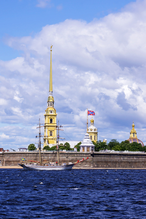 Peter and Paul Fortress, St. Petersburg, Russia 版權商用圖片