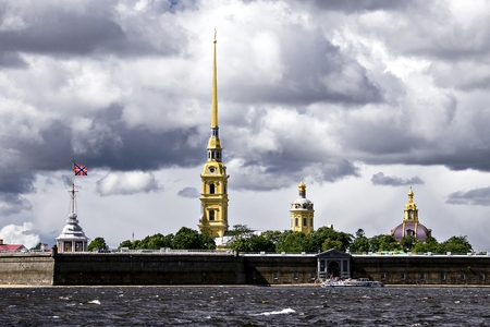paul: Peter and Paul Fortress, St. Petersburg, Russia Editorial
