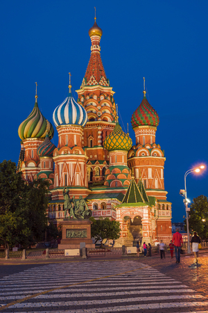 basils: St. Basils Cathedral on Red Square, Moscow