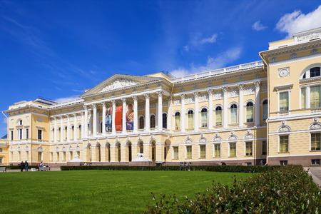 The State Russian Museum, St. Petersburg, Russia 新聞圖片