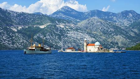 Island Mother of God on the Rocks, Montenegro photo
