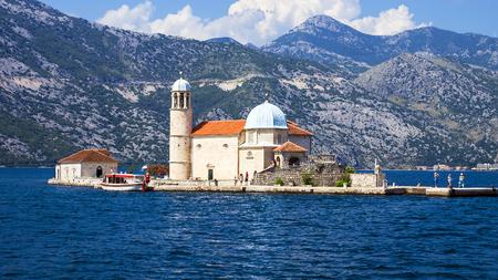 Island Mother of God on the Rocks, Montenegro
